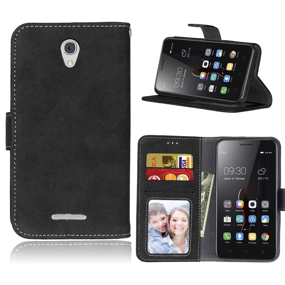 Case para lenovo a5000 leather case para lenovo a5000 a 5000 bolsos del teléfono