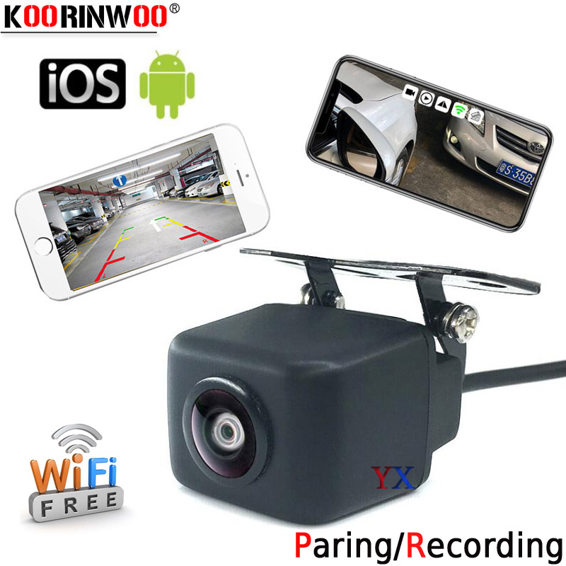 Car Wifi HD Night Vision Side View Camera For IOS/&Android Front Side View Camera