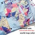 Nuevos Modelos de Cooperación Reflectante Chaquetas Sudaderas con capucha y Capa de Mapa Y Negro palabra Mapa capa impermeable gris estilo M-XXL