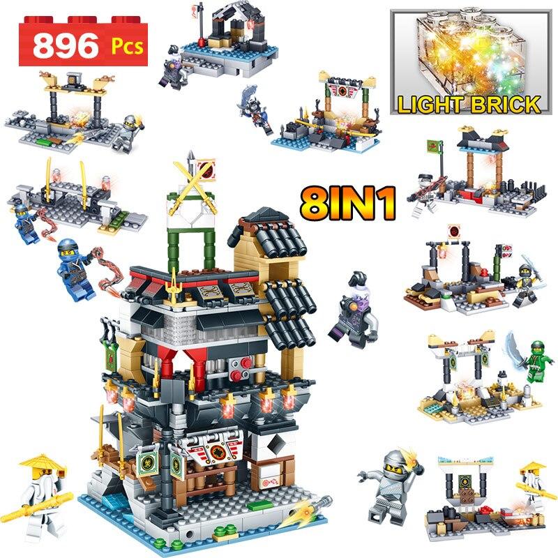 Technique Blocs Série Compatible LegoINGLYS Ninjagoed Ville 70620 Figurines BRICOLAGE Briques Garde Éducatifs Jouets Pour Enfants