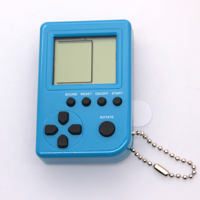 Classic Tetris Brick Game Mini Handheld Game Machine Mascota Virtual Tamagochi Toys Interactive Toys For Kids