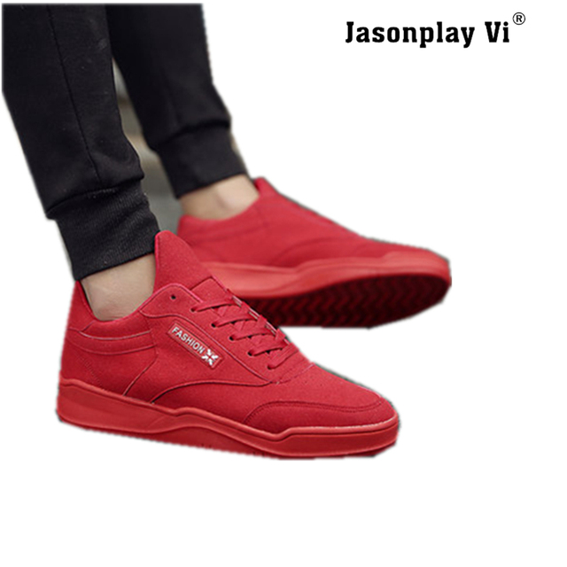 Jasonplay Vi & 2016 New Brand Fashion Breathable Men Shoes Worldwide High-quality comfortable Solid Color Casual Shoes Men X08