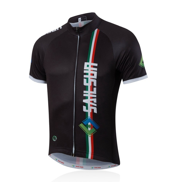 3fa464b37 SAIL SUN Men Pro Cycling Jersey Top COOL Black Bicycle Clothing Male Team  mtb Summer Bike Shirts Jacket Quick Dry