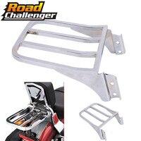 For Harley Sportster XL 04 17 Dyna 06 17 Softail 84 05 FLST FLSTC LSTSC 06 17 Motorcycle Sissy Bar Backrest Luggage Rack