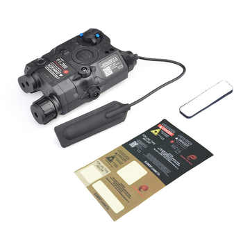 Airsoft LA-5 UHP Battery Case PEQ LED Flashlight Red Laser IR Laser SF LA5 Red laser tactical light Appearance Version Hunting