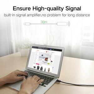 Image 3 - Ugreen us121 usb 2.0 amplificação do sinal do cabo de extensão conectado sem fio lan velocidade linha de dados 5/10/15/20/30 m