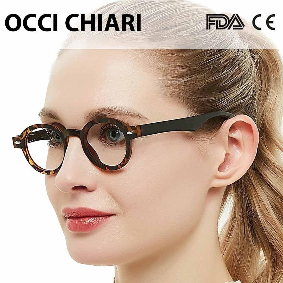 OCCI CHIAR Reading Glasses Men 1.25 Clear Anti-fatigue Presbyopic Eyeglasses Frame Women With Case +1.75 2.25 2.5 2.75 3 3.5