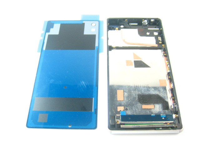 Замена Полный ЖК-Дисплей + Сенсорный Экран Digitizer + Рамка с задняя Крышка для Sony Xperia Z3 + E6553 E6533/Xperia Z4 белый