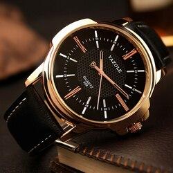 Yazole marca de luxo famoso masculino relógios de negócios relógio masculino relógio de quartzo moda reloj hombre 2019