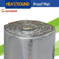 1 Roll 4sqm Car Truck Boat Heat Thermal Sound Shield Insulation Proof Material Mat Deadener Anti