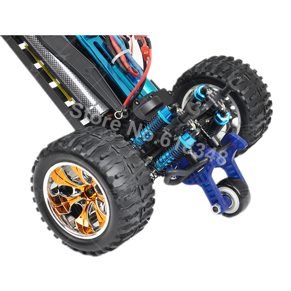 1 Set Stunt Tire Wheel Anti-roll Mount High Speed for RC HSP Monster Truck BRONTOSAURUS Pro 94111 / 94188 hsp unlimited 94201 electric 4wd desert truck pro fs gt2 radio set