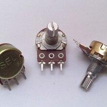 10 шт./лот RK16 16 Тип A100K один потенциометр соединения алюминиевый вал потенциометра