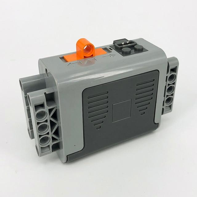 Technic parti compatibile per il multi funzioni di alimentazione strumento servo blocchi treno motore elettrico PF set di modello di un edificio kit