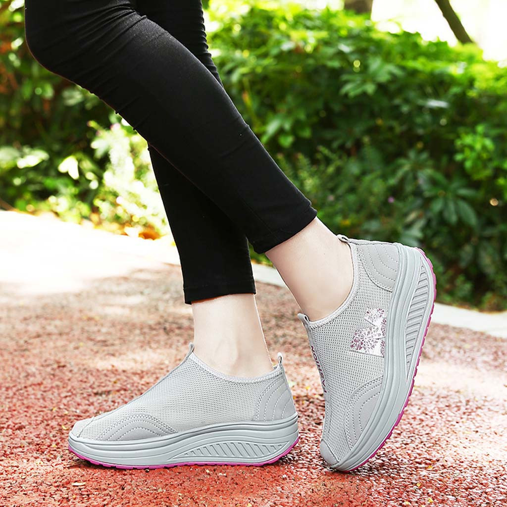 Sneakers Black Pumps-Shoes Platform Spring Women Casual Shallow title=