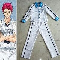 Kuroko của Bóng Rổ RAKUZAN Đồng Phục Học Sinh Kuroko không Basuke Akashi Seijuro Cosplay Costume Bất Kỳ Kích