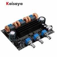 TPA3116D2 18 V a 24 V Subwoofer Digital amplificador de Audio de 50 w + 50 W + 100 W 2,1 canal amplificador B1-002