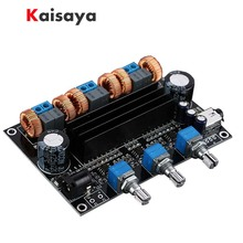 TPA3116D2 18V to 24V Subwoofer Digital Audio Amplifier Board 50w+50W+100W 2.1 channel amplificador B1 002