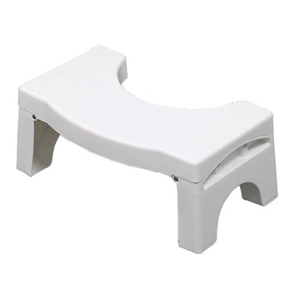 Toilet Stool Home Crouch Non Slip Anti Constipation Squatting Folding Bathroom Aid For Kids Plastic Potty Multifunction Round(China)