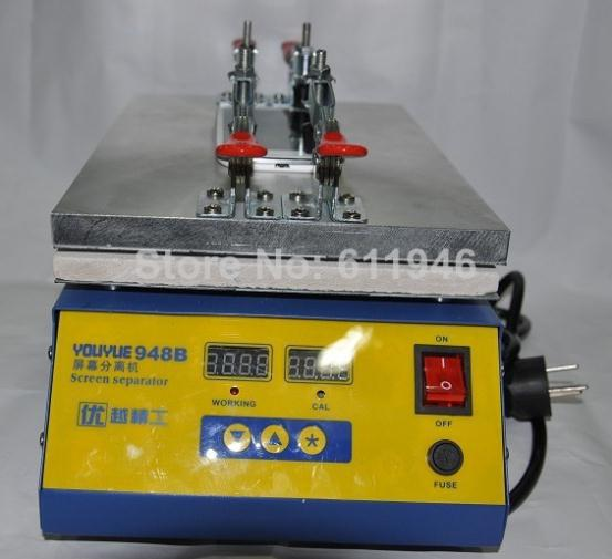 1pc  Youyue 948B LCD Separator Machine hot plate  For Tablet b101xt01 1 m101nwn8 lcd displays