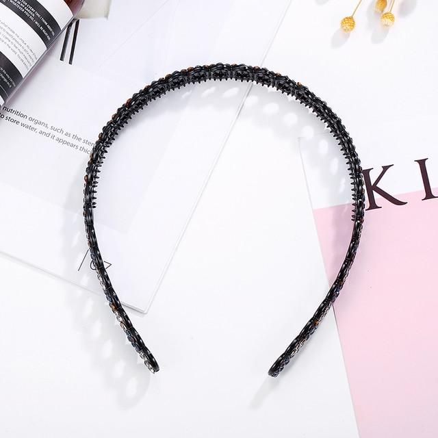 Химера новинка модный акриловый обруч для волос кристальная