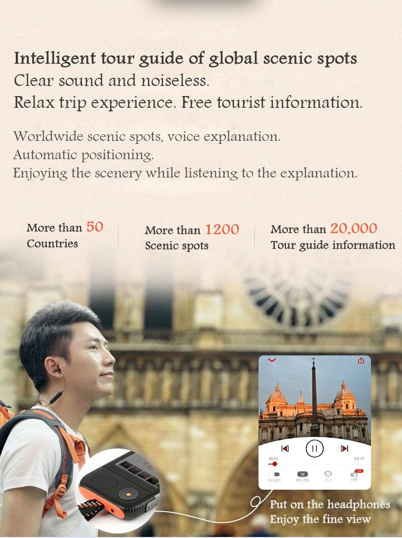 Joner Pro Traductor Instantaneo De Voz Lingua Offline Elettronici Immediata da Viaggio Aibecy Traduttore Vocale Portatile - 5