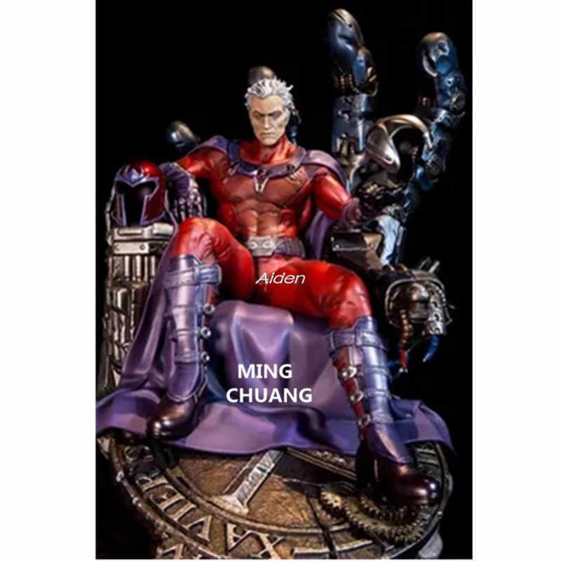 """""""X-Nam Tượng Megamind Magneto Áo Ngực ERIK Lehnsherr Đầy Đủ Chân Dung Max Eisenhardt GK Nhân Vật Hành Động PF HỘP Đồ Chơi 40CM B1234"""