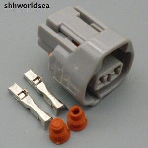 Shhworldsea 2 Pin 2.2m kobieta Auto dysza olejowa wtyczka samochodów wodoodporne gniazdo złącza elektrycznego 6189-0249 dla Toyota, Honda Nissan
