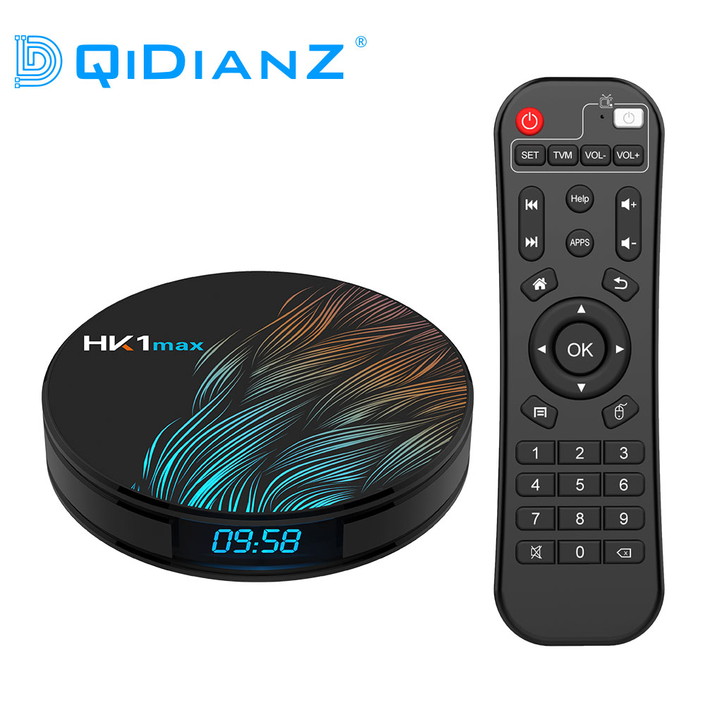 HK1MAX Android 9.0 Smart TV BOX RK3318 Quad Core 2.4G&5G Wireless WIFI Set Top Box Media player HK1 MAX Google voice PK H96MAX(China)
