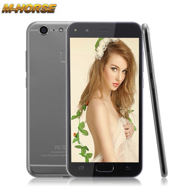 Original m-horse c9 pro 5.5 pulgadas smartphone android 6.0 mtk6580 quad Core 1 GB RAM 8 GB ROM Teléfono Dual SIM GSM Móvil Celular teléfono