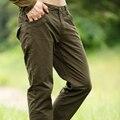 Envío Marca Hombre Pantalones Encuadre de cuerpo entero Luz Militar Del Ejército de color caqui Pantalones Largos Joggers Pantalón Blanco ropa de Hombre MK76627