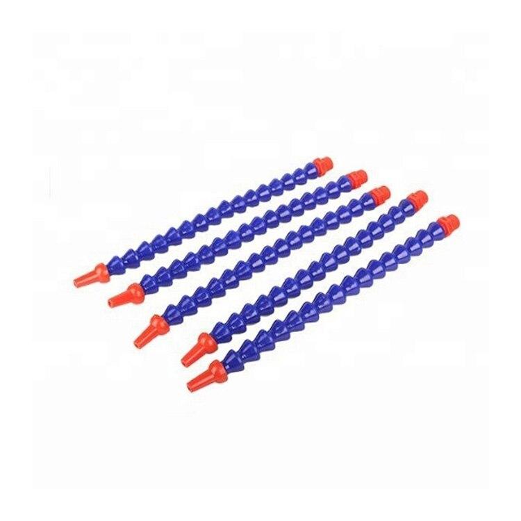 6 x 30cm Plastic Flexible Water Oil Coolant Pipe Hose @ La