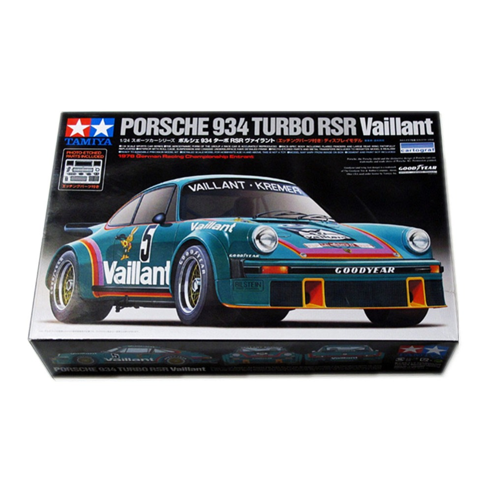 OHS Tamiya 24334 1/24 934 Turbo RSR Vaillant Scale Assembly Car Model Building Kits G original vintage style водолазки