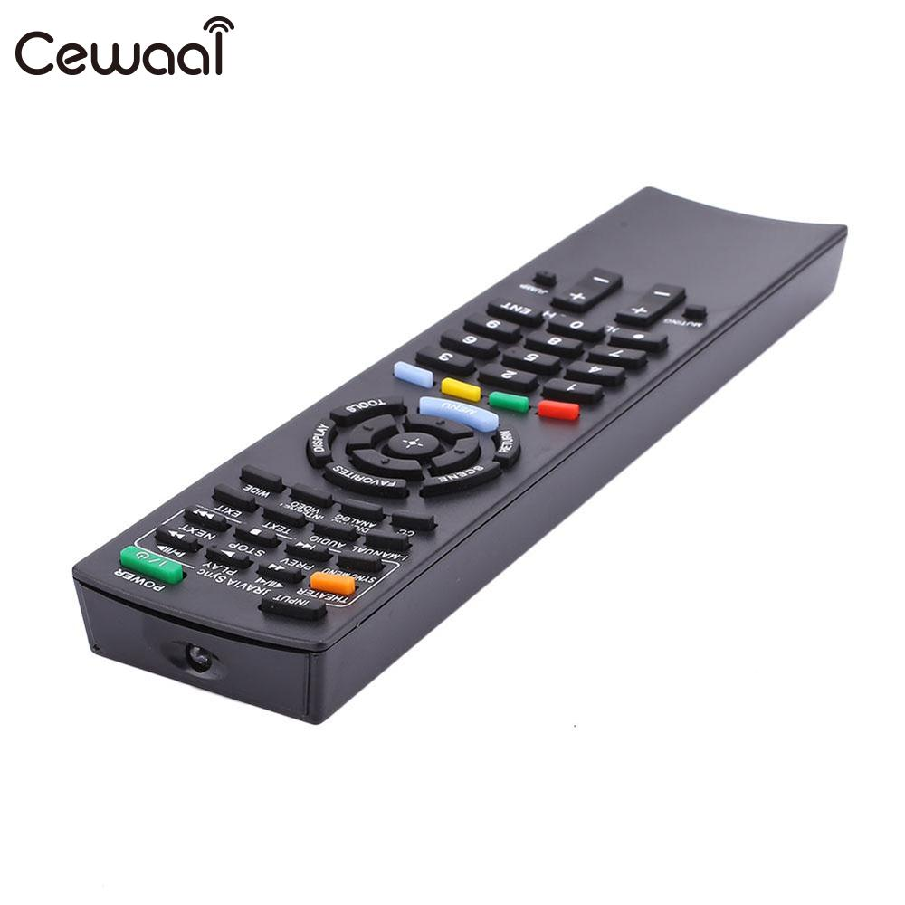 Cewaal 433kHz RM-ED022 Remote Control Buttons Replacement Parts RC For Sony