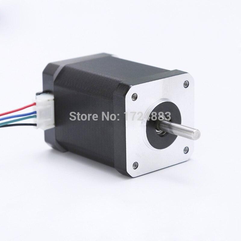 42bygh44 59.5mm 2.3a 0.89n.m motor de baixo nível de ruído (4218hb44401) para cnc xyz