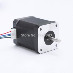High torque 42 Stepper Motor 2 PHASE 4-lead Nema17 motor 42BYGH44 59.5MM 2.3A 0.89N.M LOW NOISE (17HS4401)  motor for CNC XYZ