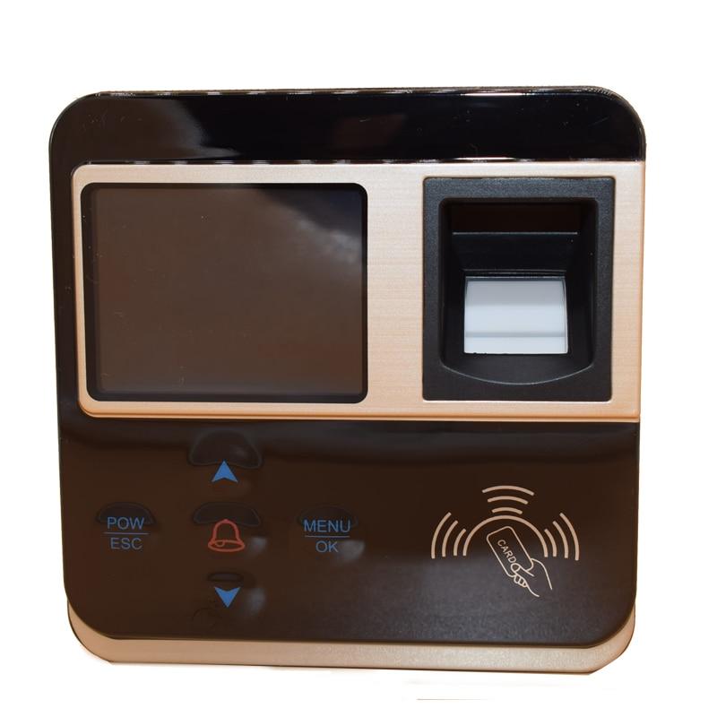 Realand F211 biométrique d'empreintes digitales rfid contrôle d'accès tcp ip usb fonction kit de bricolage collection de temps gratuit 15 porte-clés