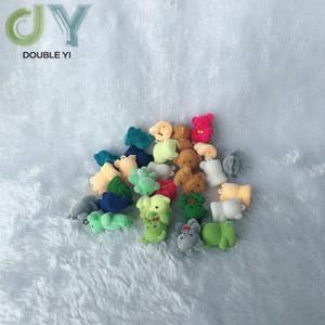 10 шт., блестки, мишки тедди, кулон, брелки, крошечные флокированные мишки, кукольные подвески для DIY, ожерелье, серьги, ювелирные изделия, принадлежности