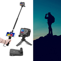 Useful Selfie Stick Phone Clamp Tripod Holder Adapter Mount Wristband Accessories For DJI OSMO Action Camera Part Supplies