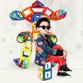 65pcs-180pcs Mini Magnetic Designer Construction Set Model & Building Toy Plastic Magnetic Blocks Educational Toys For Kids Gift