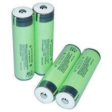 4 шт. 3400 мАч 18650 защищены Перезаряжаемые Батарея для фонари налобные литий-ионный Топ на пуговицах Батарея (Panasonic NCR18650B ячейки)