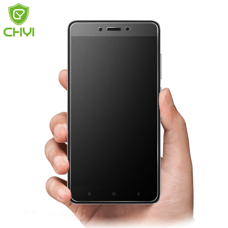 CHYI Matte Tempered Glass For Xiaomi Redmi Note 4X Screen Protector 5.5 inch Note 4 Oleophobic Coating 2.5D Frosted Glass Film