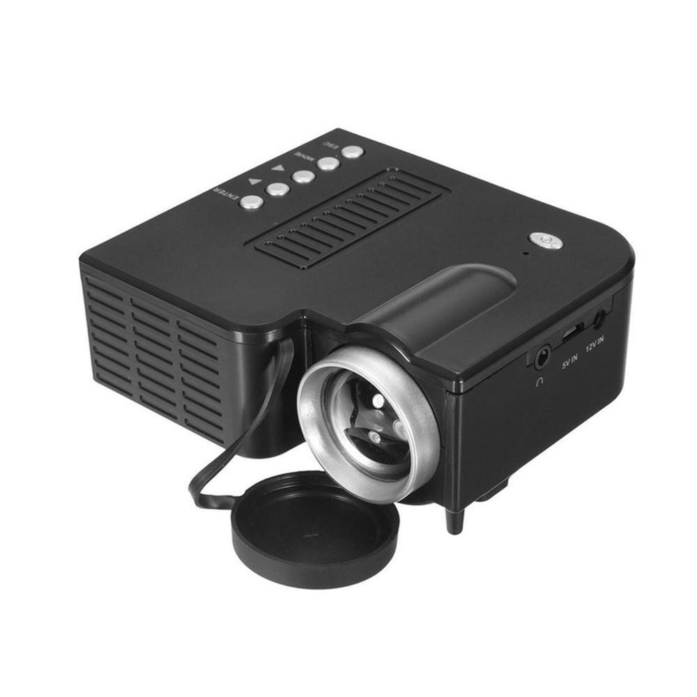 Projecteur numérique professionnel Mini projecteur à LED portable 1080P multimédia cinéma maison cinéma familial