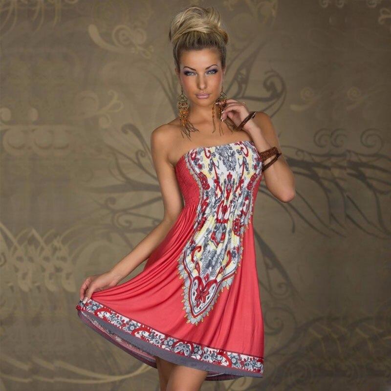 Ziparmi a Boho été robe femmes Sexy robe