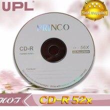 10 дисков класса A x52 700MB пустой Princo Печатный CD-R диск