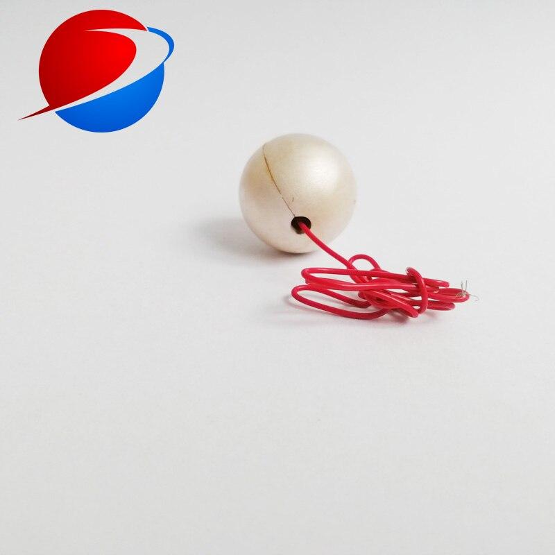 Sphères creuses piézoélectriques en céramique de boule en céramique sphère piézoélectrique de 20mm * 1.5mm