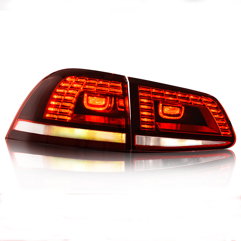 Car Styling Case For Volkswagen For Touareg Taillights 2011 2012 2013 2014 2015 2016 2017 LED Tail Lamp LED Rear Lamp