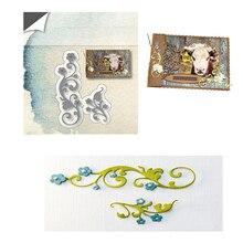 Eastshape Hibiscus Swirls Dies Scrapbooking Metal Cutting New for 2019 Flower Die Cuts Card Making Craft