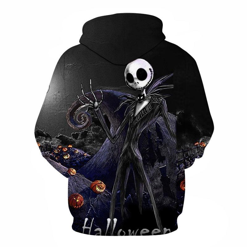 Men's Halloween 3D Printed Hoodie 8