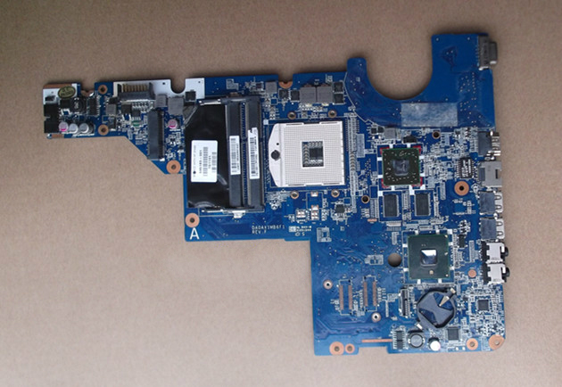 Free shipping 595183-001 board for HP CQ62 CQ42 G62 G42 laptop motherboard with for Intel hm55 chipset free shipping 608364 001 board for hp 14