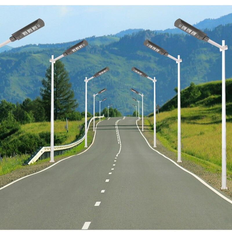 LED Solar Street Light 20W40W60W Super Bright Radar Motion Sensor Waterproof Security Lamp for Garden Yard Wall Light (6)